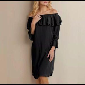 Soft Surroundings Off Shoulder Bossa Nova Dress 1X